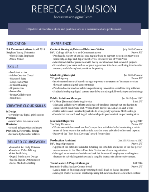 Permalink to: Resume